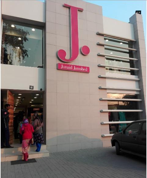 J. – Junaid Jamshed M. M. Alam Road – Lahore